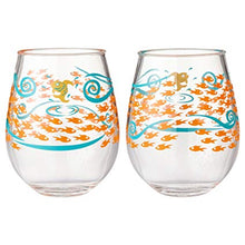 Load image into Gallery viewer, Lolita Fish Out of Water Acrylic Stemless Wine Glasses, Set of 2
