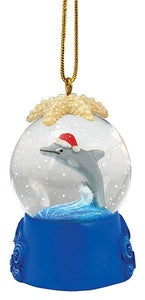 Dolphin Snow Globe Ornament