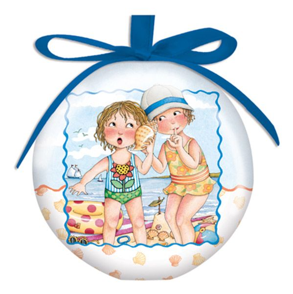 She Sells Sea Shells Ornament
