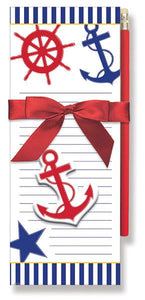 Nautical Magnetic Note Pad