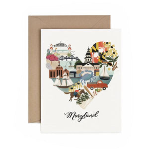 Greeting Card MD Heart