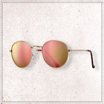 BLUE PLANET ASH-ROSE GOLD MIRROR POLARIZED
