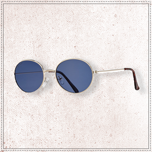 BLUE PLANET HEATHE-GOLD/BLUE POLARIZED