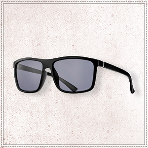 BLUE PLANET LANDEN-MATTE BLACK POLARIZED