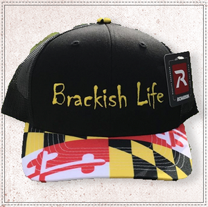 Brackish Life MD Trucker Hat