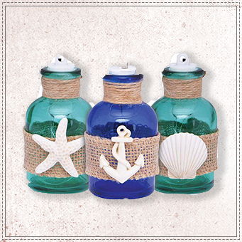 Beach Jar Ornament