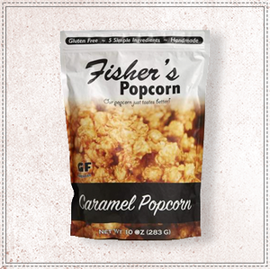 Fishers Popcorn Caramel Bag