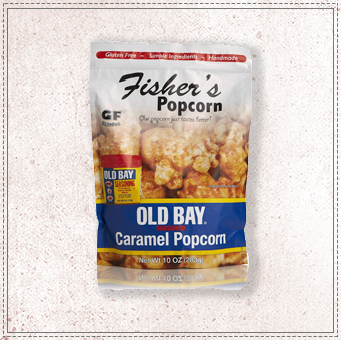 Fishers Popcorn Old Bay Bag
