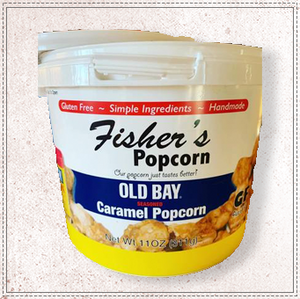 Fishers Popcorn Small Old Bay Tub