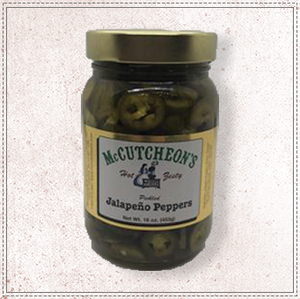 Pickled Jalapeño Peppers