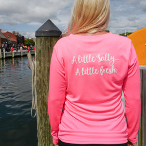 Brackish Life Hot Pink Performance UV Longsleeve