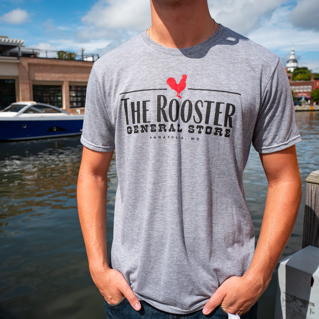 The Rooster General Store Shirt - Gray