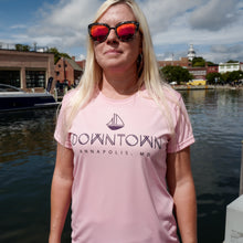 Load image into Gallery viewer, Womens Annapolis Paddle Short Sleeve Boat Shirt
