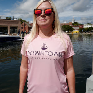 Womens Annapolis Paddle Short Sleeve Boat Shirt