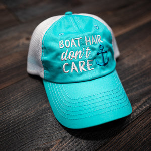 Mesh Boat Hair Don't Care Hat
