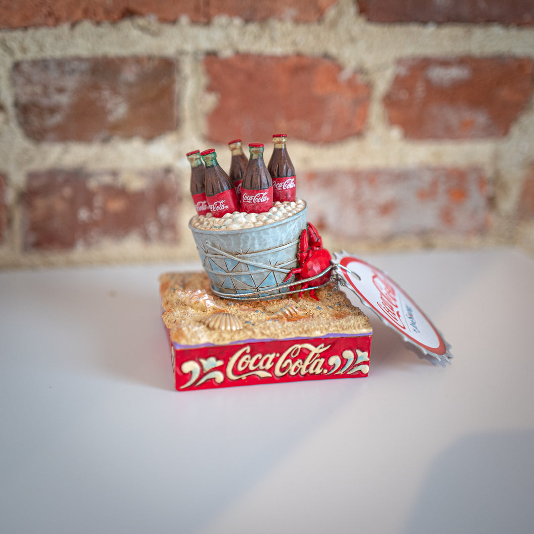 Coke Ice Bucket Figurine