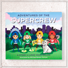 Load image into Gallery viewer, SUPERCREW ADVENTURES CHILDREN'S BOOK
