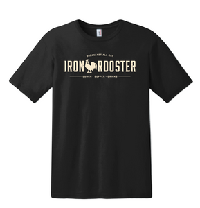 Iron Rooster Shirt - Black