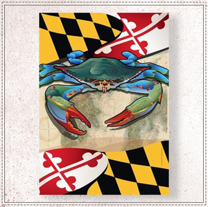 Maryland Blue Crab Garden Flag
