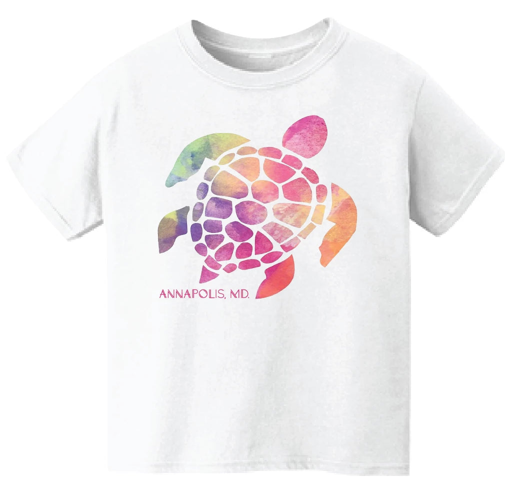 Annapolis Kids Turtle Shirt (Girls)
