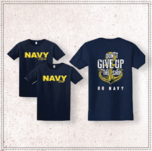 Load image into Gallery viewer, Navy Mom/Dad Comfort Colors T-Shirt