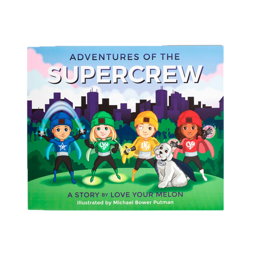 SUPERCREW ADVENTURES CHILDREN'S BOOK