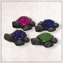 "Load image into Gallery viewer, 1.5"" Marble Turtle (Assorted Colors)"