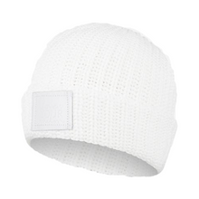 Load image into Gallery viewer, WHITE REVITALIZE CUFFED BEANIE