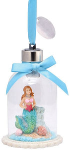 Mermaid Snow Globe Ornament
