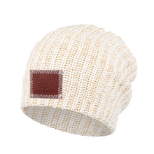 Load image into Gallery viewer, KHAKI SPECKLED BEANIE