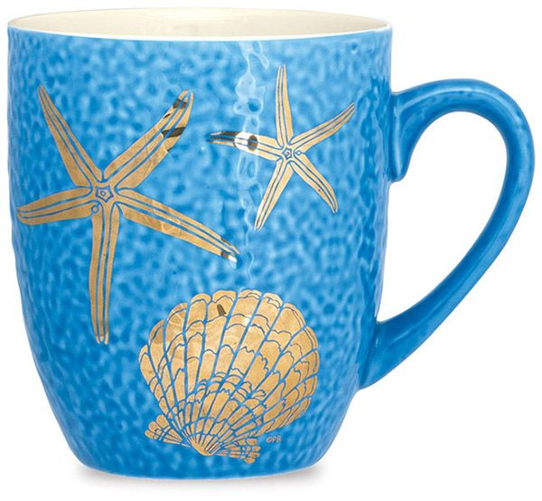 Stafish and Scallop Mug