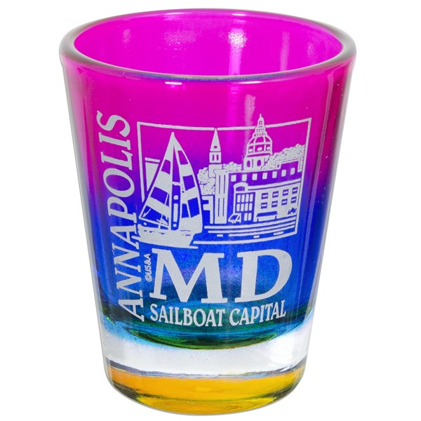Annapolis Sailboat Capital Shot Glass