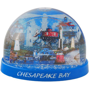 Chesapeake Snow Globe