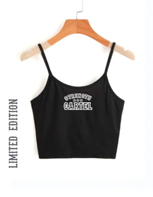 STRENGTH CARTEL STARS CROP CAMI