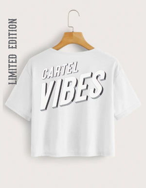STRENGTH CARTEL VIBES CROP BOXY TEE