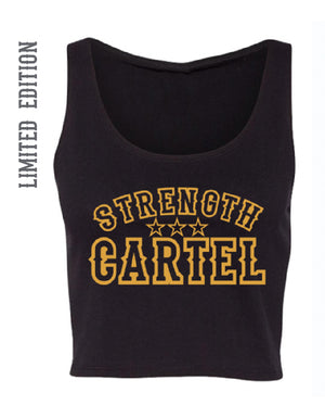 STRENGTH CARTEL ROSARY CROP TANK