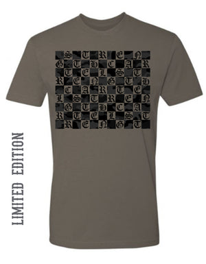STRENGTH CARTEL CAMO GRID TEE