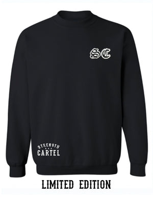 STRENGTH CARTEL SC STITCHED CREWNECK