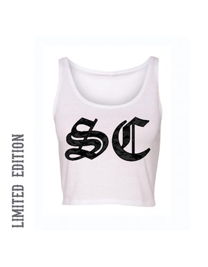 STRENGTH CARTEL SC CAMO CROP TANK