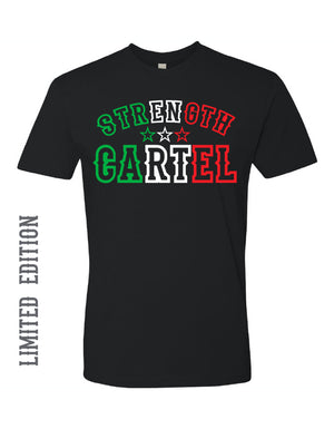MENS STRENGTH CARTEL STARS MEXICO TEE