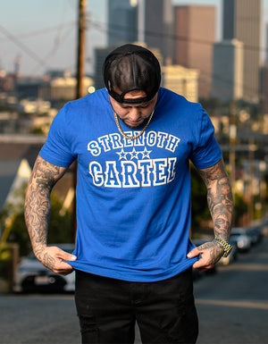 STRENGTH CARTEL STARS TRUCKER HAT ALL BLACK