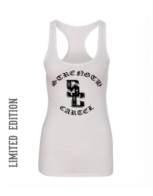 STRENGTH CARTEL SC 3-DOT WOMENS TANK
