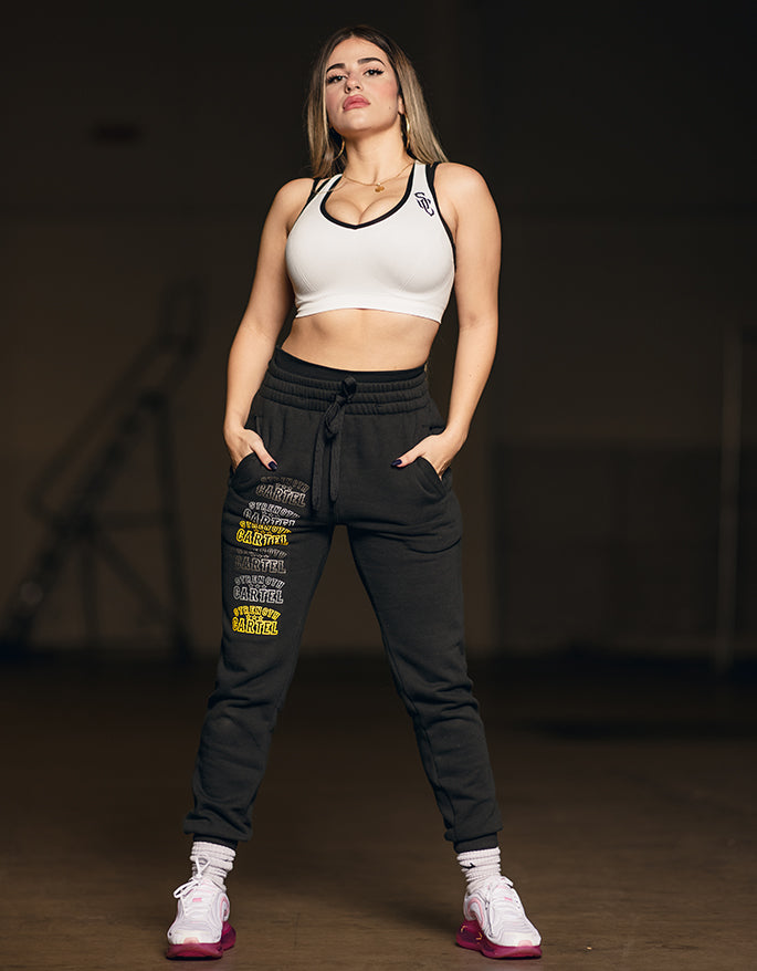 STRENGTH CARTEL RACER BACK SPORTS BRA