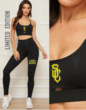 STRENGTH CARTEL CAMI SPORTS BRA & LEGGINGS