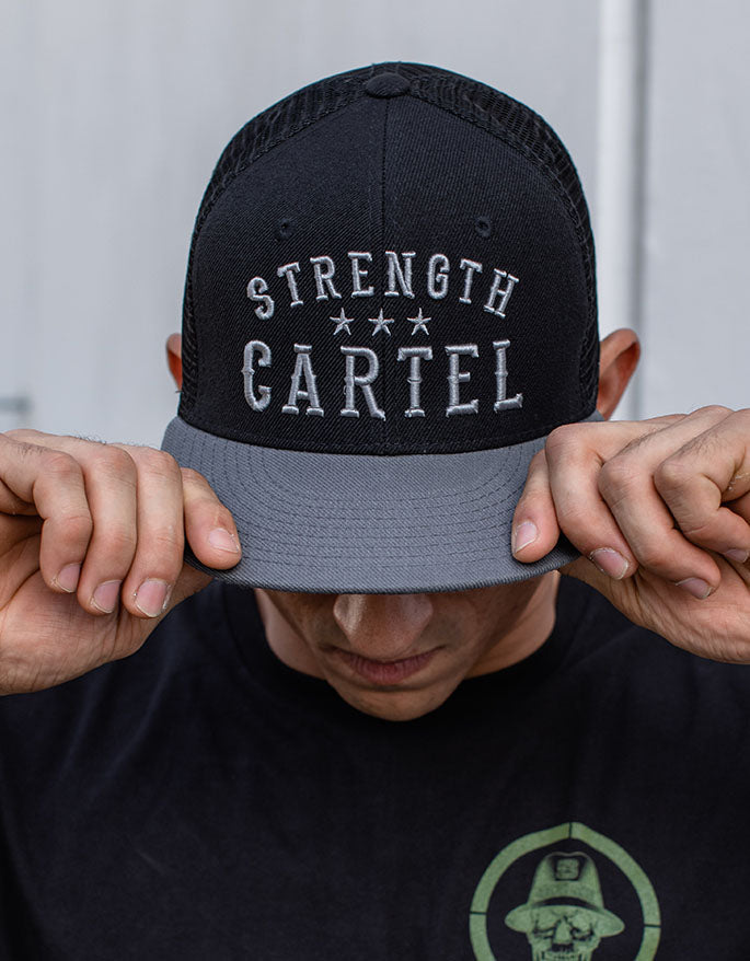 SC UNISEX HAT STRENGTH CARTEL STARS TRUCKER HAT