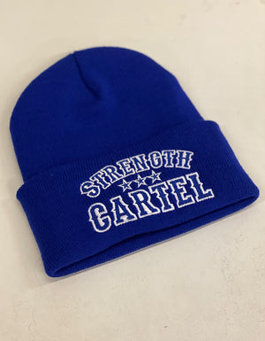 STRENGTH CARTEL OG STARS BEANIE BLUE