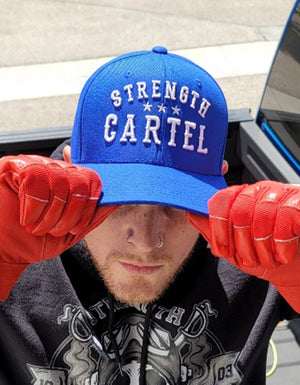 STRENGTH CARTEL OG STARS HAT BLUE