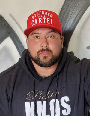 STRENGTH CARTEL OG STARS HAT RED