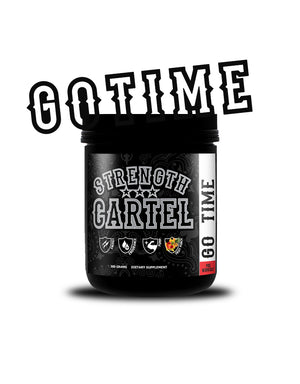 Strength Cartel Go Time PreWorkout