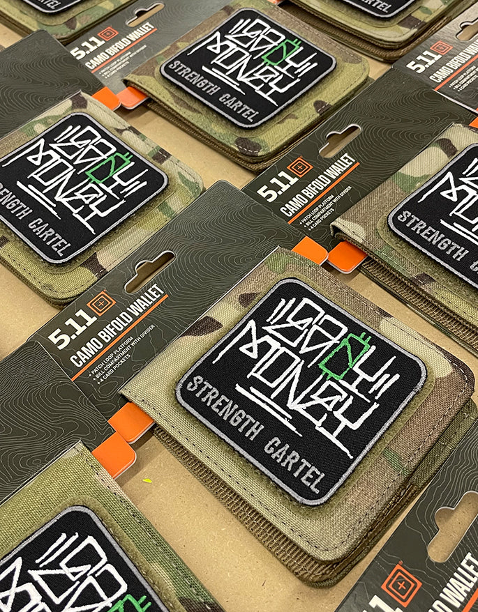 STRENGTH CARTEL TECH 5.11 WALLET Camo
